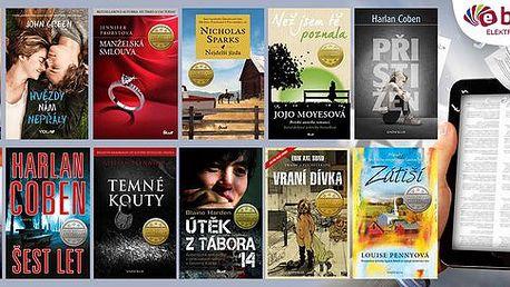 Až 66% sleva na e-knihy z Ebux.cz