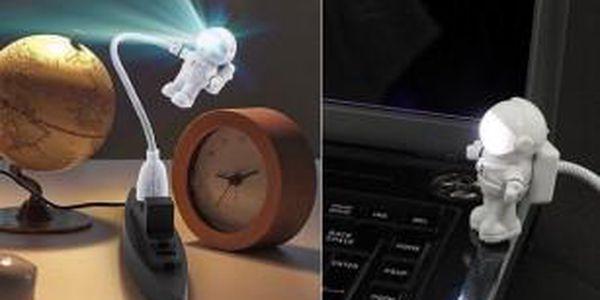 USB Lampička Astronaut - hit letošních Vánoc!