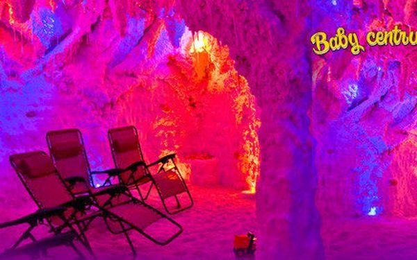Vstupy do solné jeskyně pro 2 dospělé nebo i děti