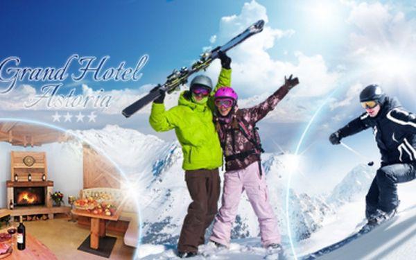 JIŽNÍ DOLOMITY - TRENTINO! 3, 4 nebo 7 nocí v lyžařském ráji LAVRONE v hotelu Grand Hotel Astoria ****!
