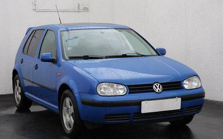 Volkswagen Golf 1.8 20V, ČR, digi klima, šíbr