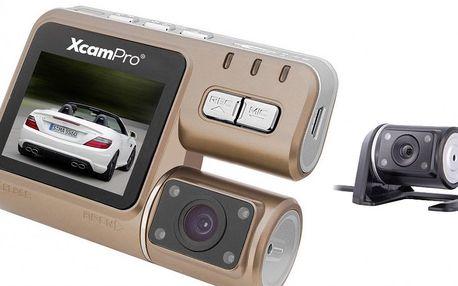 Kamera Xcam Pro HD I1000 se zadní čočkou