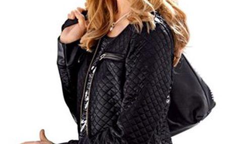 Kabát, černá