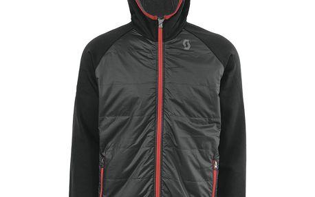 Jacket Decoder iro grey/black, šedá, L