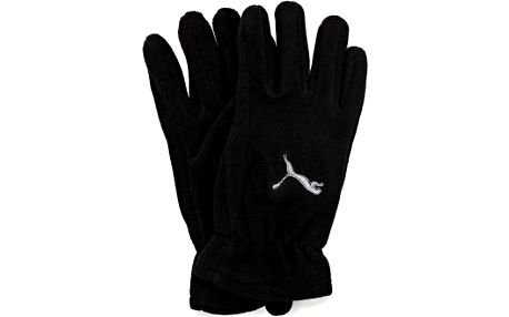 Puma FUNDAMENTALS FLEECE GLOVES černá L/XL