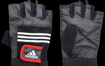 Komfortní precizně zpracované tréninkové rukavice z koženky