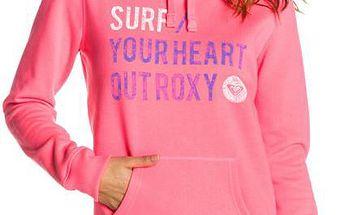 Maya Hoodie B Glow Pink 204, růžová, M