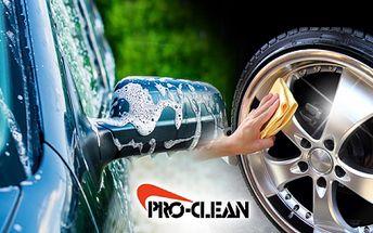 Ruční mytí auta, kol a podběhů, účinná ochrana laku na zimu speciální nanotechnologií!