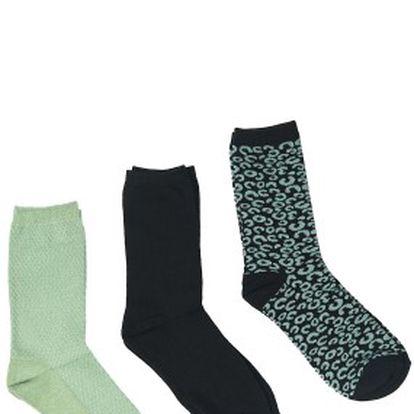 Pieces - Ponožky Elly (5-pak)