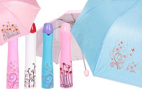 Dámský deštník v designovém provedení s poštovným zdarma