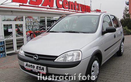 Opel Corsa 1.0, klimatizace