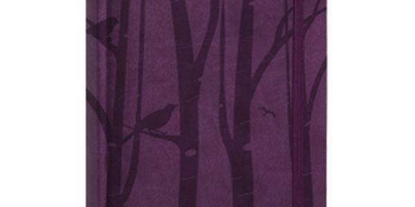 Tucson-Vivella speciál - Denní B6, tmavě fialová, diář 2015, 11 x 17 cm