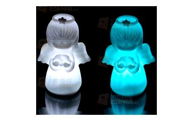 LED andílek - 7 barev světla a poštovné ZDARMA! - 9999911944