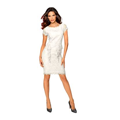 Šaty, přírodní bílá