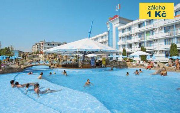 Bulharsko, oblast Slunečné Pobřeží, letecky, snídaně, ubytování v 4,5* hotelu na 8 dní