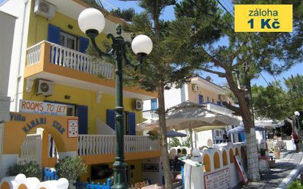 Řecko, oblast Santorini, letecky, snídaně, ubytování v 3* hotelu na 11 dní