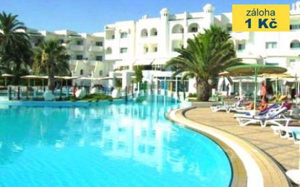 Tunisko, oblast Monastir, letecky, all Inclusive, ubytování v 4* hotelu na 8 dní
