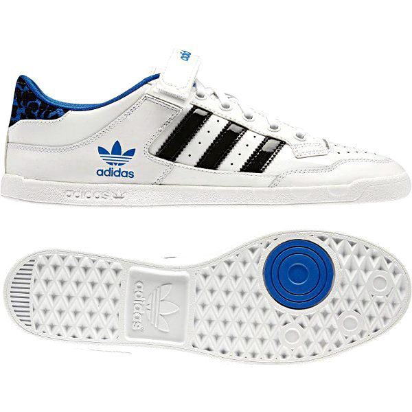 Adidas Centenia Low W Leather (Cheetah) white/bluebird/black 7,0 (40,7)