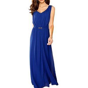 Šaty, královská modrá