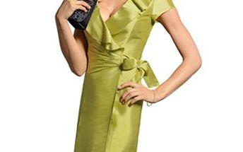 Šaty, pistáciově zelená