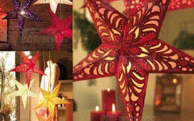 Trojrozměrná vánoční hvězda a poštovné ZDARMA! - 31414494