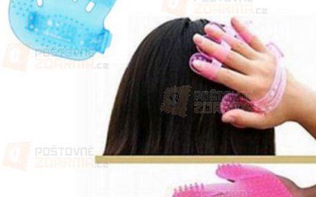 Masážní gumová rukavice na hlavu a poštovné ZDARMA! - 31214495