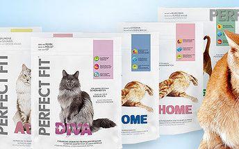 5 balení granulí Perfect Fit pro kočky