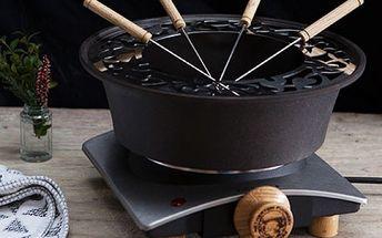 Anglický set na fondue Netherton Foundry