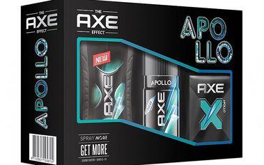 Axe kazeta Apollo (EDT + deo sprej + sprchový gel)