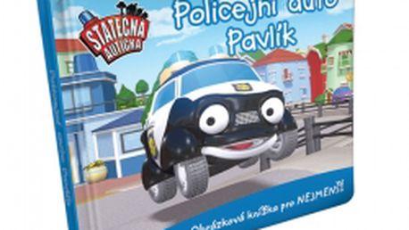 Policejní auto Pavlík - leporelo kniha Statečná autíčka