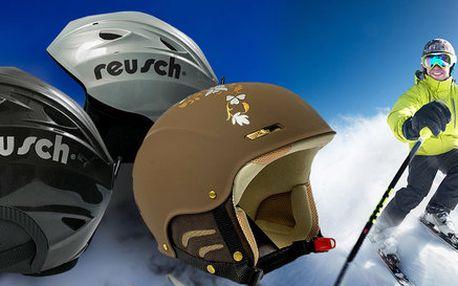 Kvalitní přilby Reusch na snowboard i lyže