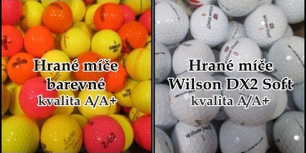 Golfových míčků není nikdy dost! Získejte mix hraných barevných míčů nebo oblíbené superměkké Wilson Staff DX2 Soft v nejlepší kvalitě. Balení po 30 ks.