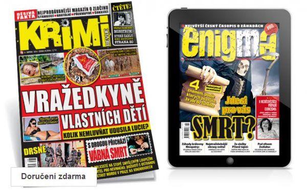 Půlroční předplatné Krimi revue + bonus