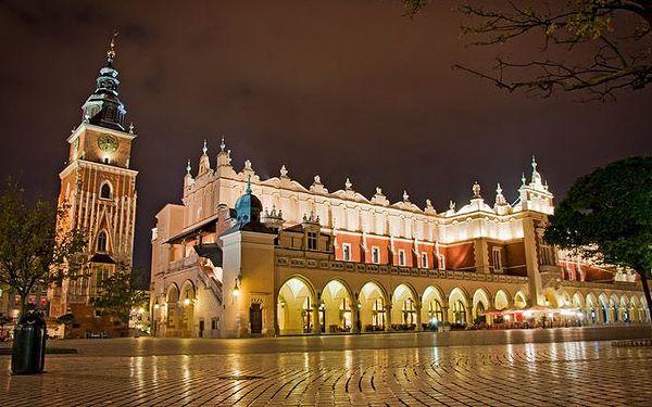 3denní pobyt v hotelu Start v Krakově pro 2 osoby se snídaněmi