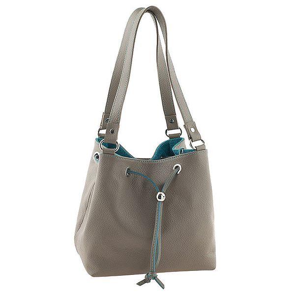 Dámská kožená dvoubarevná kabelka Tina Panicucci