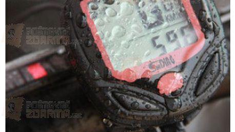 Bezdrátový cyklopočítač (tachometr na kolo) 15 funkcí SD-548C a poštovné ZDARMA! - 9999900626