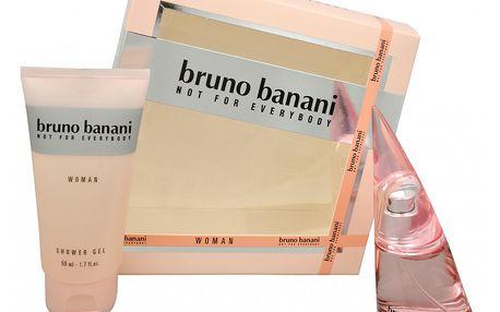Bruno Banani Bruno Banani Woman - toaletní voda s rozprašovačem 20 ml + sprchový gel 50 ml