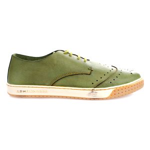 Pánské zelené boty s perforací Armand Basi