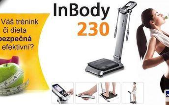 Získejte přehled o svém těle a nechte si poradit od odborníků! Analýza složení těla na přístroji InBody 230 včetně konzultace s výživovým poradcem.Výsledky získané pomocí InBody vám pomohou na cestě ke zdravému způsobu života.