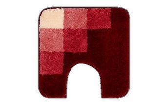 WC předložka Grund UDINE červená, 50x50 cm