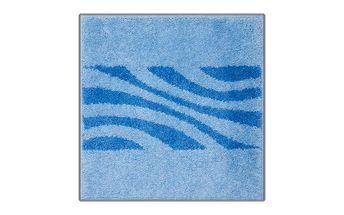 Grund Koupelnová předložka THUNI modrá, 55x55cm