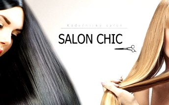 Nový účes ze salonu Chic s regenerační péčí