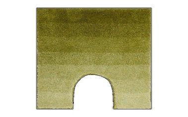 Grund WC předložka RIALTO zelená, 55x50cm