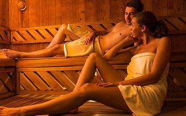 80 minut privátní finské sauny PRO DVA