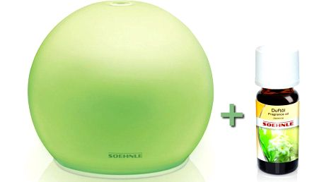 Soehnle Aroma LED osvěžovač vzduchu Venezia + vonný olejíček Soehnle