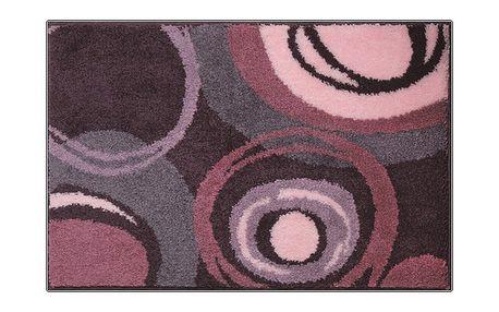 Grund PACIOS Koupelnová předložka fialová, 60x90 cm