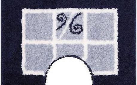 WC předložka Grund MERIDA modrá, 60x50 cm
