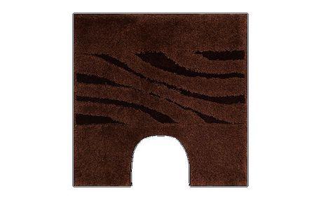 WC předložka Grund THUNI hnědá, 55x55 cm