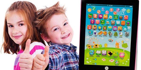 Rozvíjejte u svých dětí fantazii a znalosti díky tabletu pro děti. Zaměstnáte je na dlouhé hodinu, naučí se slovíčka, číslovky i abecedu a užijí si pořádnou zábavu. Naučte vaše děti angličtinu formou hry.