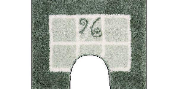 WC předložka Grund MERIDA zelená, 60x50 cm